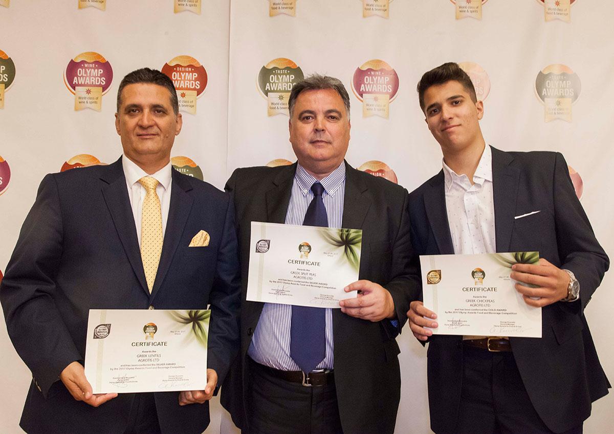κτημα αγροτη συμμετοχη σε Olymp Awards